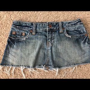AEO Size 2 Jean mini skirt.